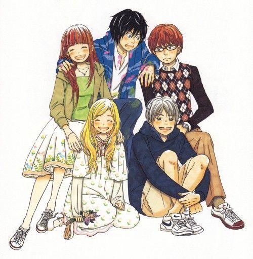 honey clover (: i love ayumi and shinobu's platonic relationship <3