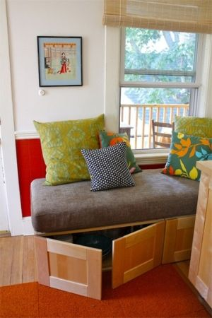 crib mattress on ikea cabinets