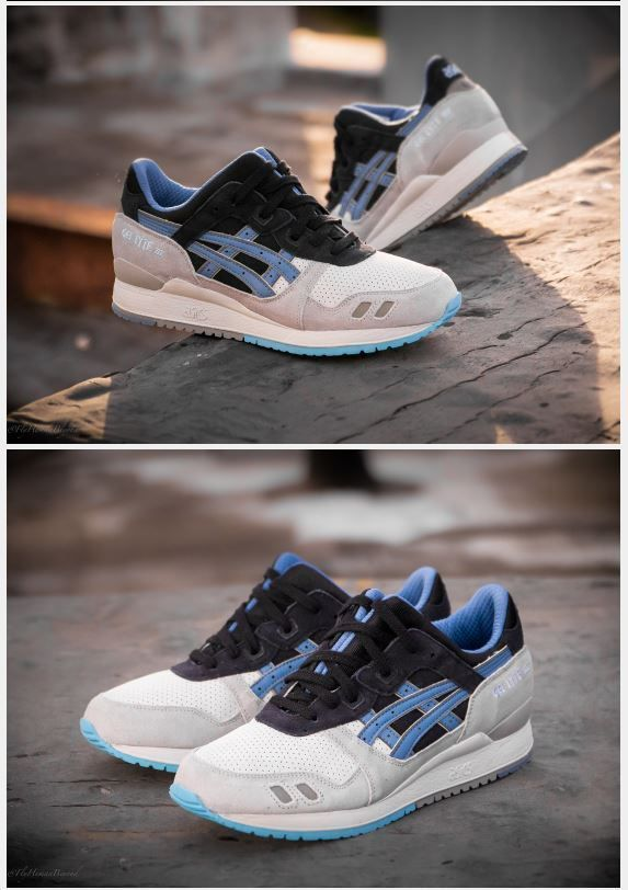 ASICS GEL-LYTE III 鈥淐amo Pack鈥?(Light Grey/Captain Blue)