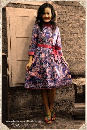 batik amarillis's hey day dress
