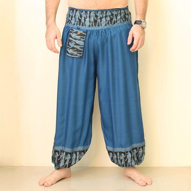 Men's Thai Harem Pants