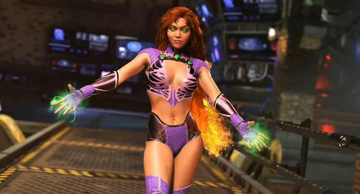 Injustice 2 trailer shows off Starfire using her rather awesome supernova super on Robin