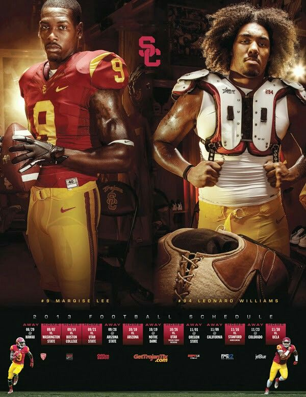 USC Football Fight On Football Schedule Leonard Williams Marquise Lee