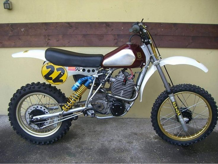 Husqvarna With Earlier Cr Tank And Seat