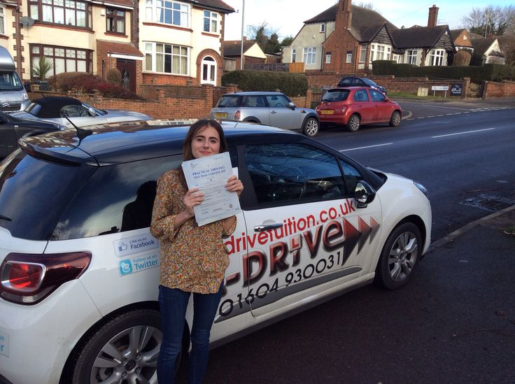 A massive congratulations to Kitty Luck of #NSG passing #DrivingTest with only 4 minor driving faults at #NorthamptonDTC with Andrew Batty of #AdriveTuition  www.adrivetuition.co.uk  01604 930031  #Driving #Adrive #DrivingTest #DrivingSchools #DrivingLessons #DrivingInstructors #Northampton #Daventry #Towcester #Wellingborough #Northants