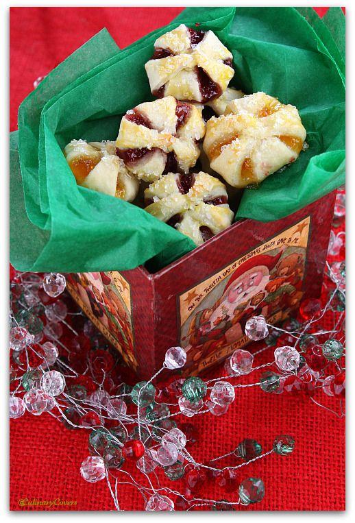 Cream Cheese Jam Holiday Cookies