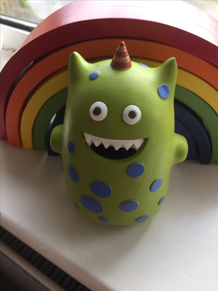 Monster money box from Kiddiwinks from www.didiinspired.com