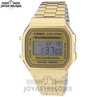 ⬆️😍✅ CASIO DORADO A168WG-9E ✅😍⬆️ Sublime Modelo de la Colección de Relojes Casio PRECIO 30.95 € En exclusiva en 😍 https://www.joyasyrelojesonline.es/producto/casio-dorado-a168wg-9e/ 😍 ¡¡Edición limitada!! #relojes #casio #RelojesCasio