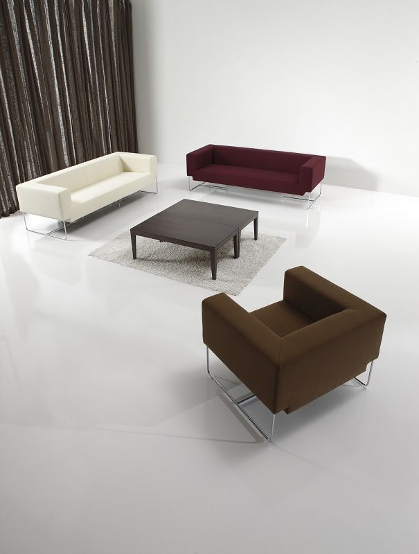 Reclining Sofa The environmentally friendly Nosso Lounge Products GECA Contract FurnitureSydney