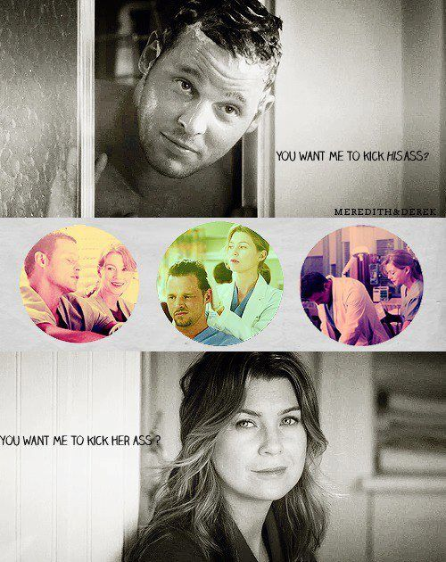 LOVE this moment!! Their friendship is the absolute best! Mer & Alex forever! (Grey's Anatomy)
