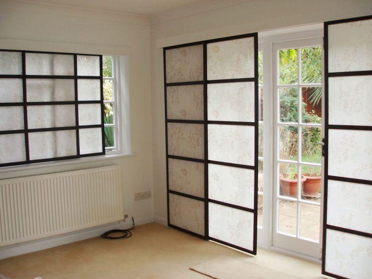 Japanese Curtains Living Room Ideas 1