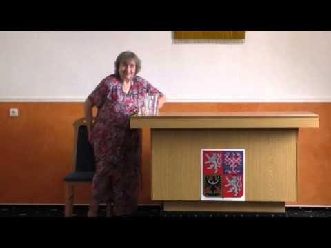 Přednáška Dr. Evy Moučkové o životním stylu a léčivých bylinkách - 5.5.2015
