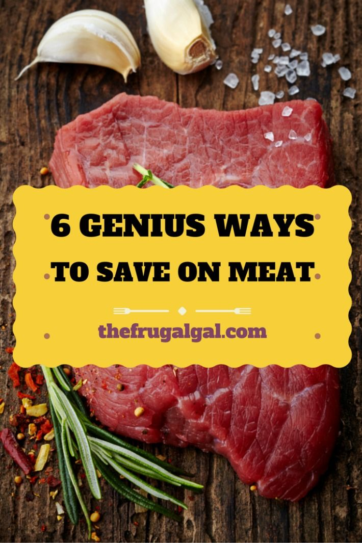 Is meat killing your grocery budget? Learn 6 genius ways to save on meat without eliminating it!