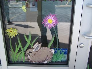 Misc Window Paintings From Different Holidays And Seasons