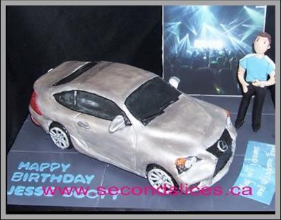 Custom Birthday Cakes Lexus car
