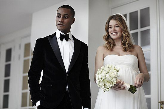 Victoria's Secret Angel Doutzen Kroes married producer/DJ Sunnery James over the weekend in a small ceremony — 30 friends and family members — in her Dutch hometown of Eastermar. | POPSUGAR Fashion