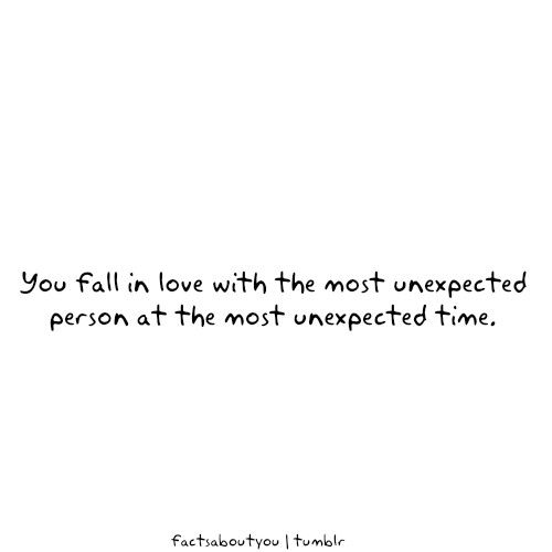 Daily Quotes You Fall In Love With The Most Unexpected Quotes At