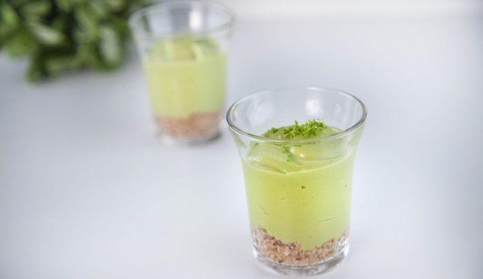 Raw Key Lime Tart | Good Chef Bad Chef