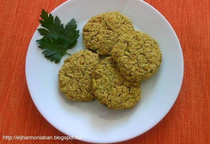 Gluténmentes zöldségfasírt sütőben sütve recept képpel. Hozzávalók és az elkészítés részletes leírása. A gluténmentes zöldségfasírt sütőben sütve elkészítési ideje: 45 perc