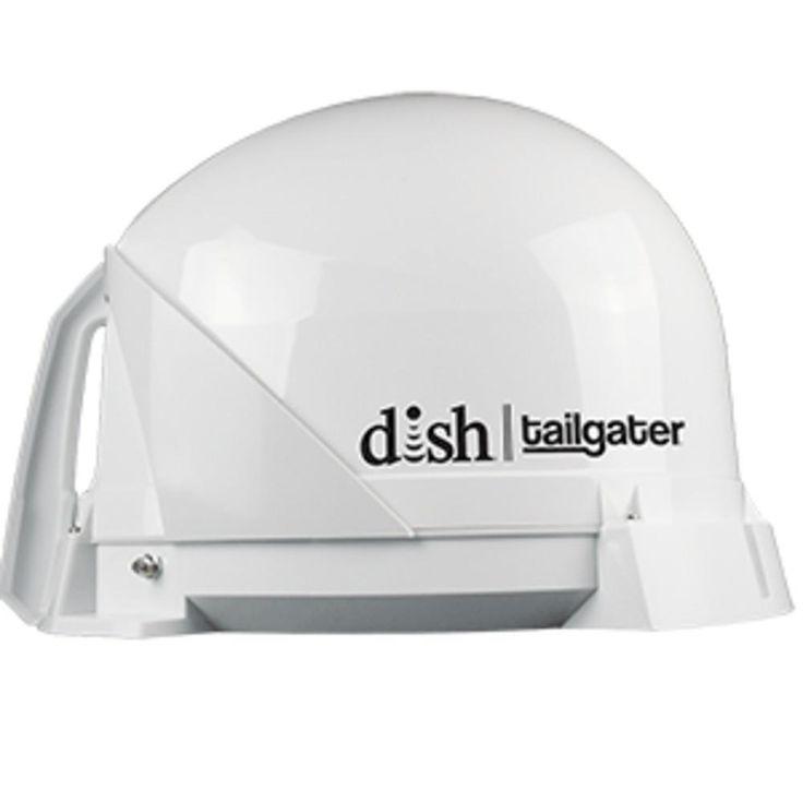 King Dish Tailgater Portable Satellite TV Antenna