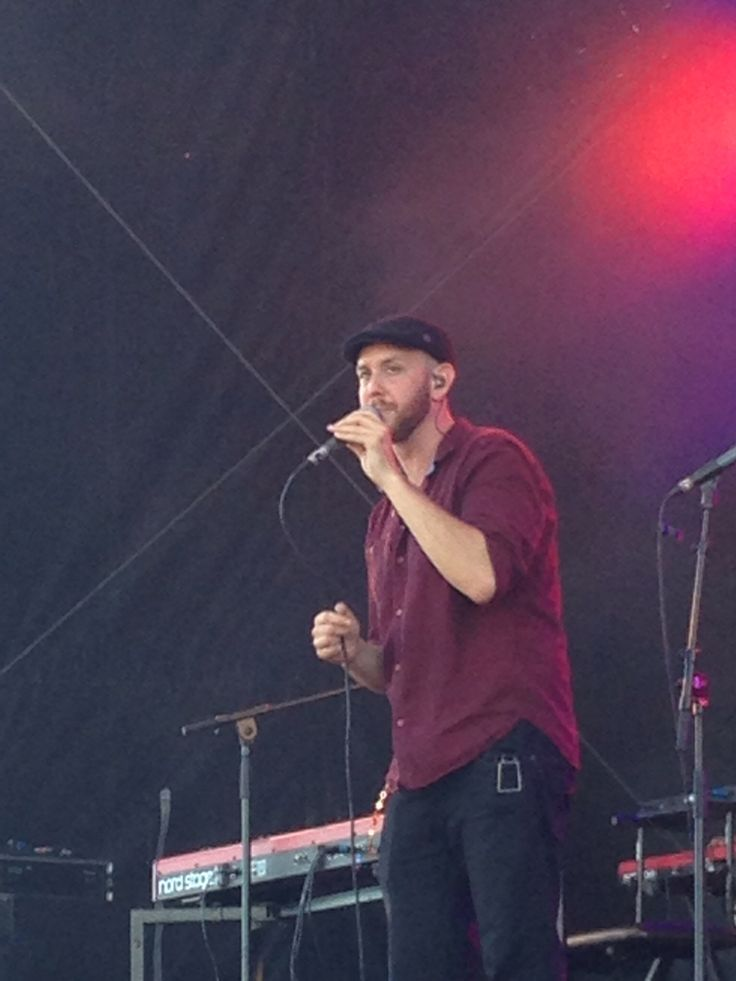 Matt Simons at concert at sea 2015