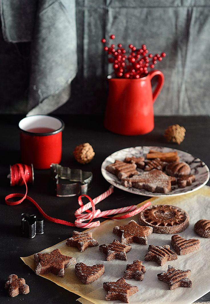 ¡Qué cosa tan dulce!: Galletas brunsli {galletas suizas de chocolate y almendra}