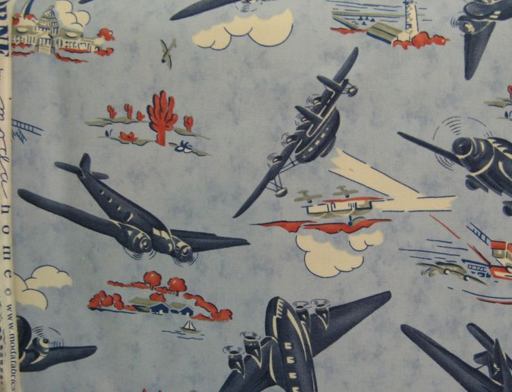 17 best images about airplane fabrics on pinterest for Airplane fabric by the yard