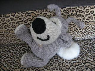 Буффи, собачка из мягкой шерсти