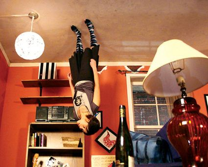 D e c e p t o l o g y the upside down room optical illusion