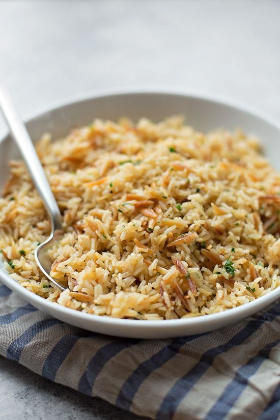 Make the perfect rice pilaf with this recipe.