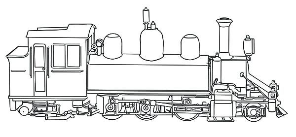 Christmas Train Coloring Page Steam Train Coloring Page For Kids