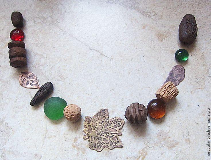 """Изготовление ожерелья """"Осень"""". Часть 1: подготовка металлической фурнитуры - Ярмарка Мастеров - ручная работа, handmade"""