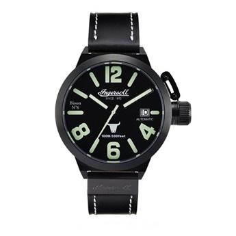 Reloj Ingersoll Bison 6 Pvd Negro XXL Automatico  http://www.tutunca.es/reloj-ingersoll-bison-6-pvd-negro-xxl-automatico