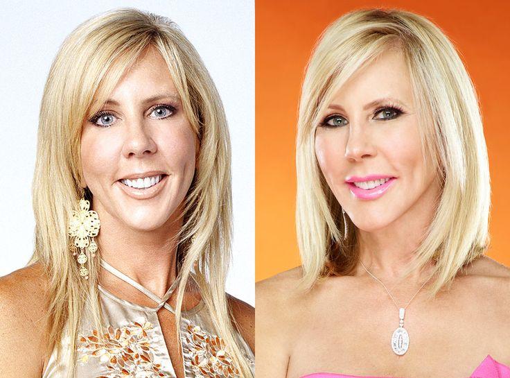 Vicki Gunvalson from Real Housewives Transformations  Real Housewives of Orange County Season 1 vs Season 11