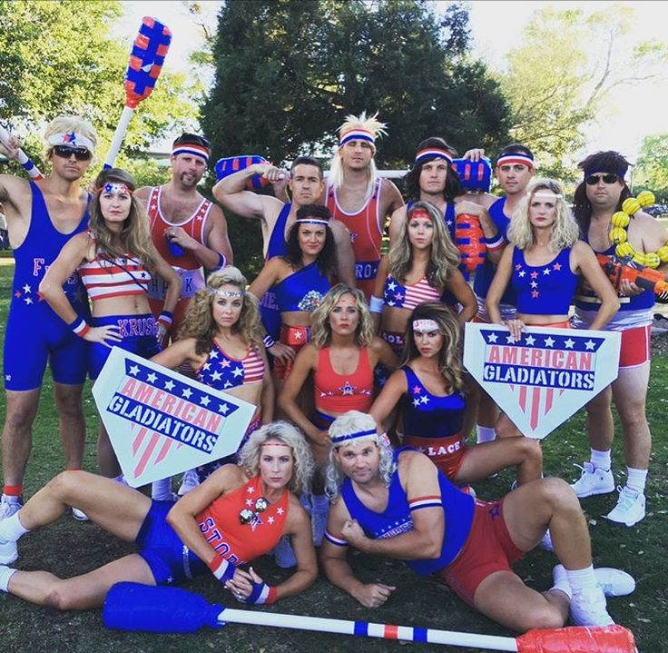 American Gladiator costumes