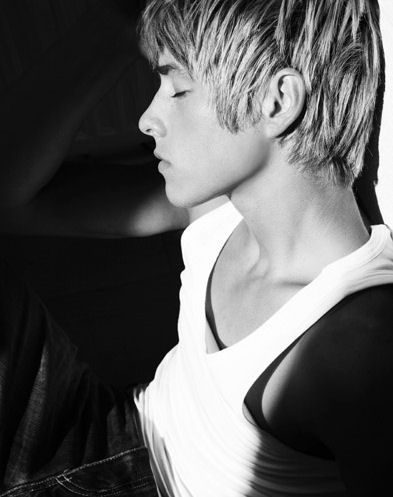 Mitch Hewer, photo, black and white, man, reference