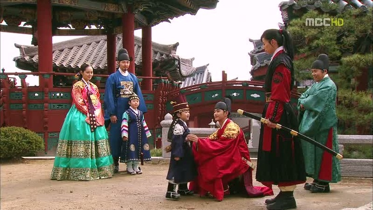 with the two princes. king's son and yeom's son