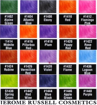 punky color chart reminiscing pinterest colors charts and color charts - Punky Color