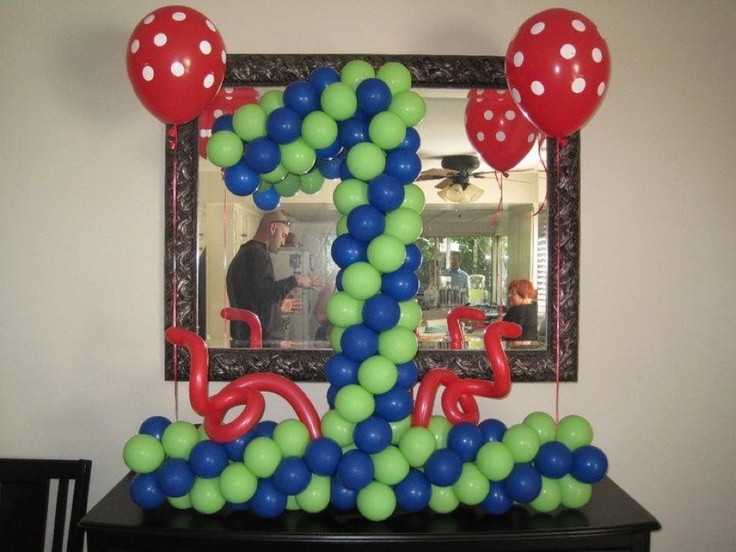 26 best Boy birthday balloon ideas images on Pinterest Balloon