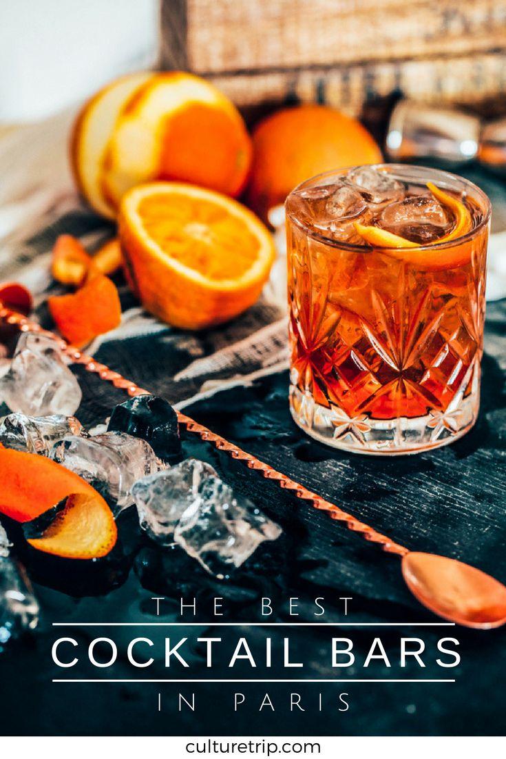 The Best Cocktail Bars In Paris