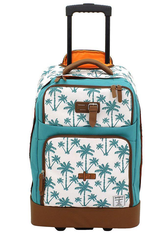 Und hier noch der Trolley fürs Handgepäck. Macht schon im Flugzeug Lust auf Brasilien!