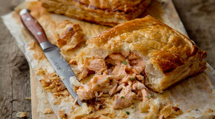 Baked Salmon in Puff Pastry #MartinShanahan #GoodFoodKarma #SuperValu #Recipe