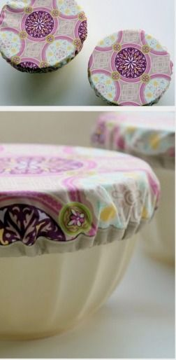 : Purple Potluck Bowl Covers