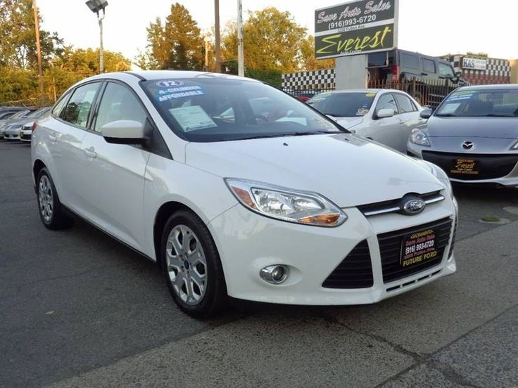 2012 ford focus se 4dr sedan save auto sales sacramento httpswww