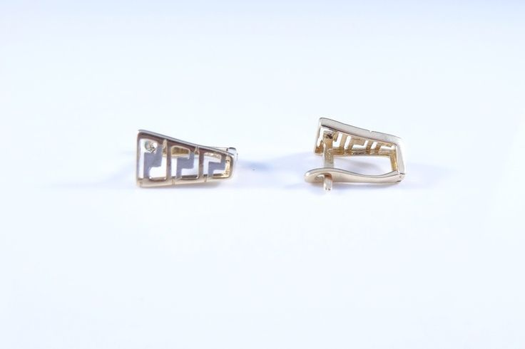 $148 14K Gold Earrings, info@bijuterie-online.ro.