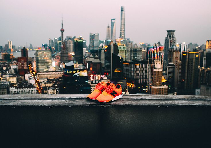 It's been seen in Paris and Los Angeles, and now the New Balance 247 Sport journeys to Shanghai for its next photographic showcase. Local photographer Nick Chu provides a look at the blazing orange colorway around the biggest and most … Continue reading →
