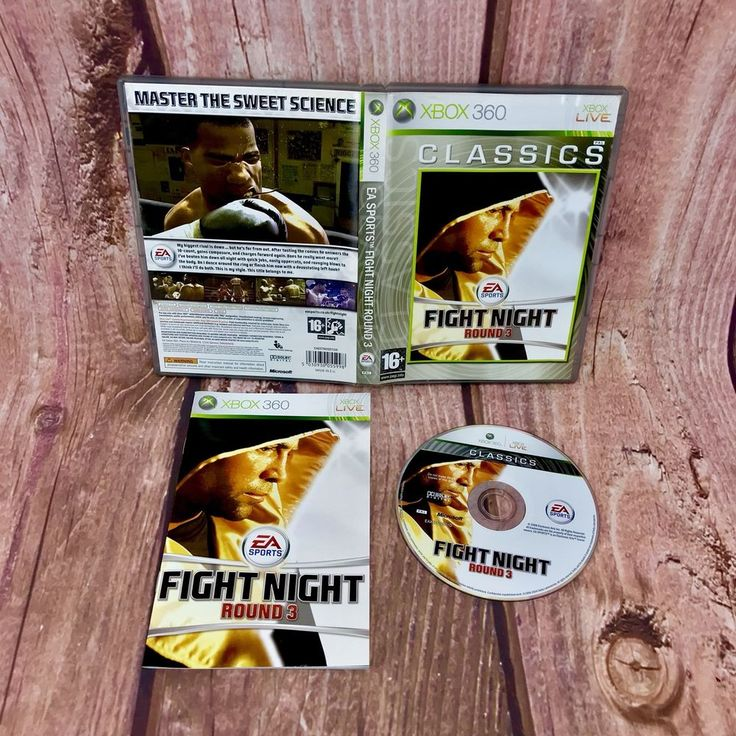 Fight Night Round 3 Xbox 360 classics live Video Games 16+ pal boxing fighting
