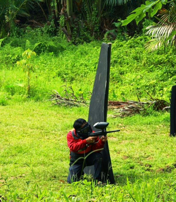Explore Sumatera: PAINTBALL GAME