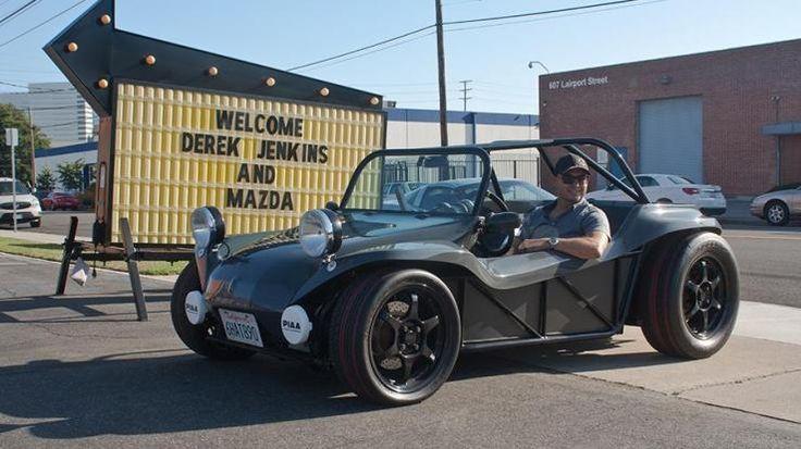 Designer Derek Jenkins on Mazda, Microbuses and the