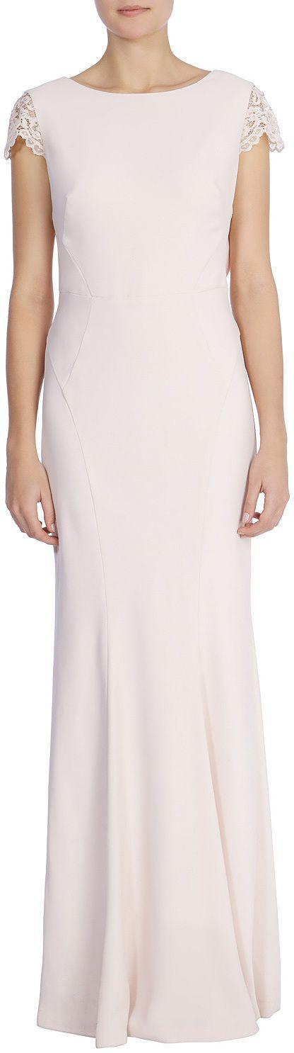 Womens blush adelina maxi dress from Coast - £89 at ClothingByColour.com